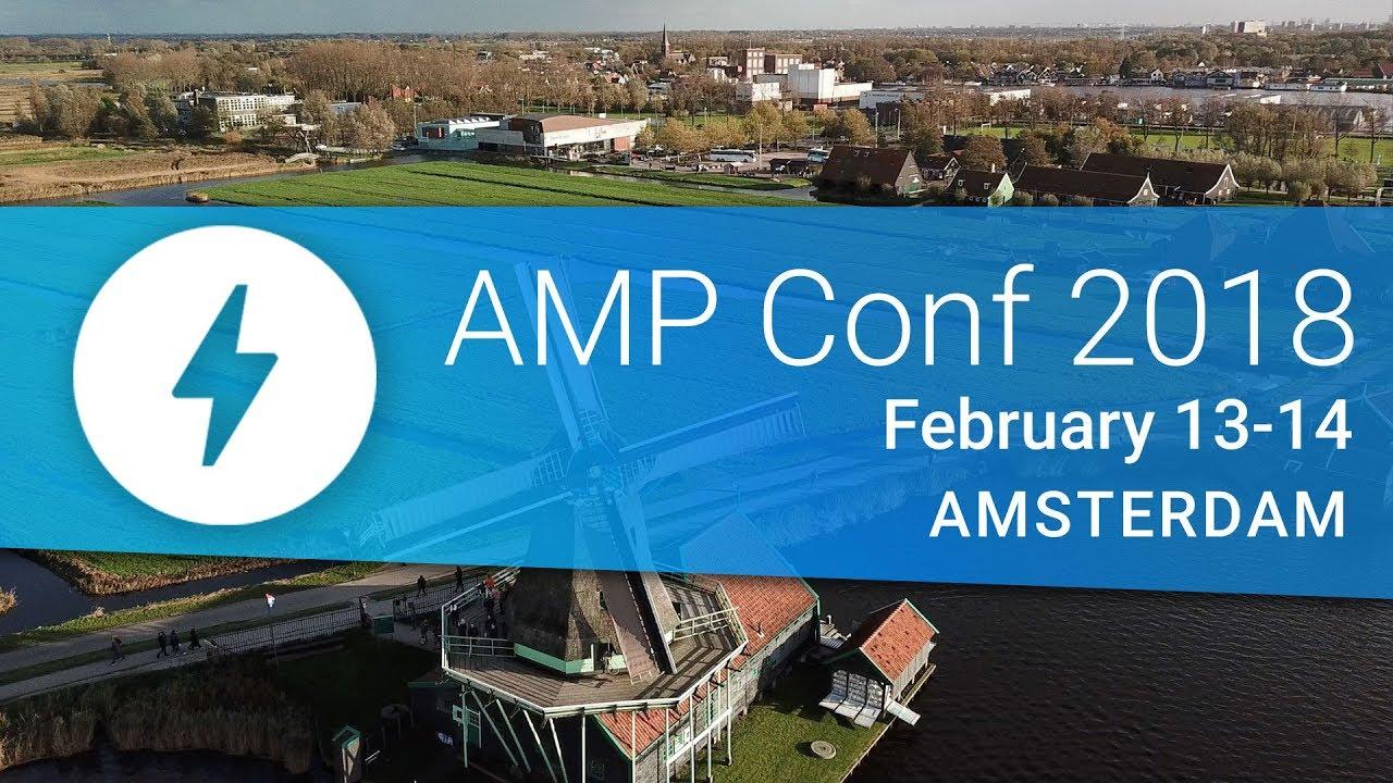 Watch the AMP Conf 2018 Livestream