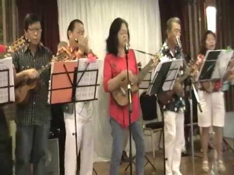 SVDP Ukulele Group's Performance at St  Vincent De Paul Church- 12th June 2016