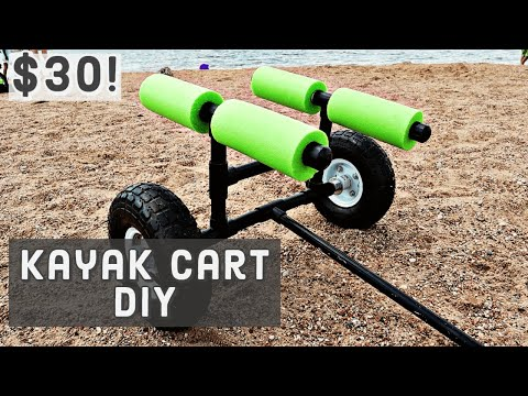 How To Build A Kayak Cart Out Of PVC For Under $30