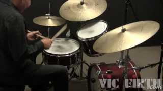 Drumset Lessons with John X: Philly Joe Jones - Stick on Stick Lick
