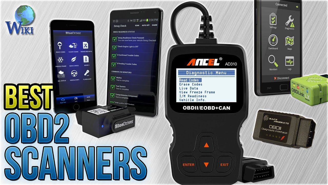 10 Best OBD2 Scanners 2018