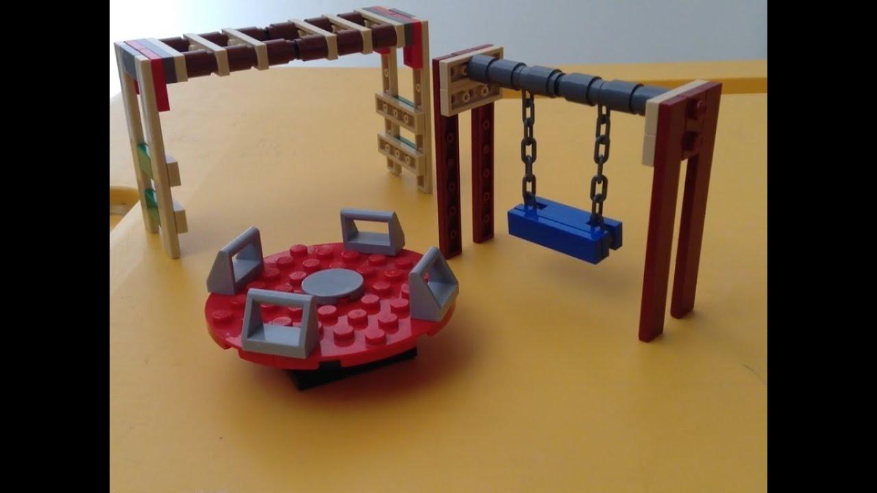 Como hacer un parque de lego parte 1 youtube for Como iluminar un parque