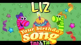 Tina&Tin Happy Birthday LIZ