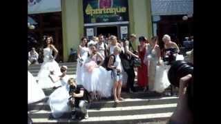 Парад невест в Краматорске