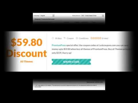Premiumpress Coupon codes: Get $59.80 With Discount Codes