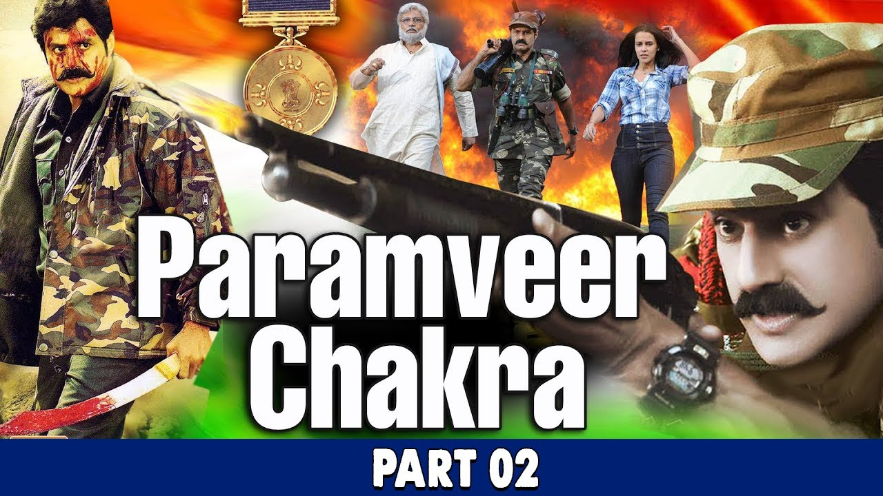 Param Veer Chakra (HD) Hindi Dubbed Movie Part 02 || Balakrishna || Bollywood Full Movies