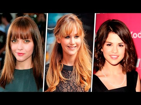 With Bangs Haircuts For Round Face for Women | Haircut & Style