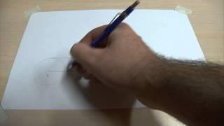 Enlazar dos rectas paralelas de igual longitud por medio de una semicircunferencia