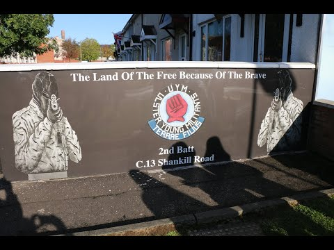 The Troubles - Belfast, Northern Ireland UK