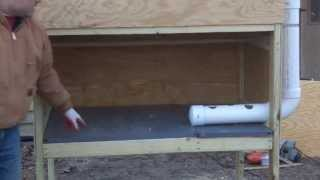 Easy Clean Chicken Coop DIY