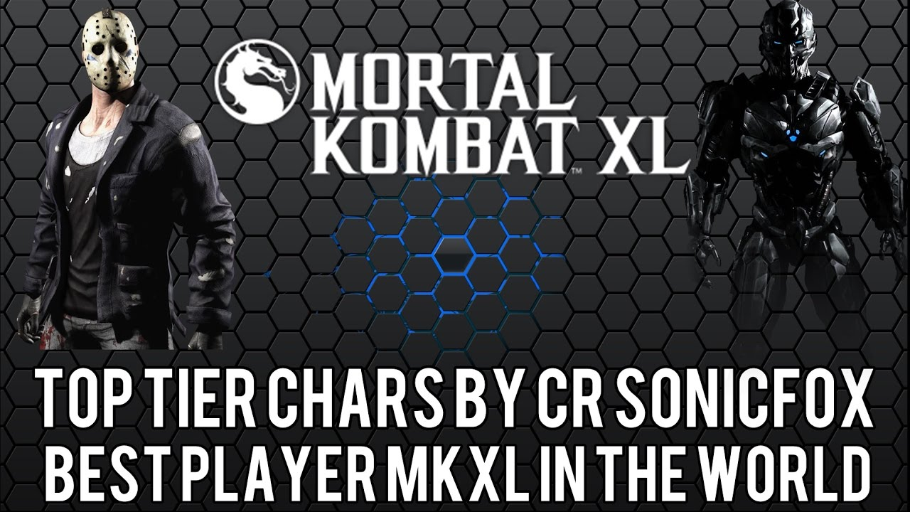 Mkx Tier List 2020.Mkxl Best Characters Top Tier Chars By Cr Sonicfox December 2016