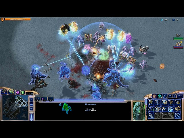 StarCraft II Direct Strike #4 — Gear 1v2 тактика