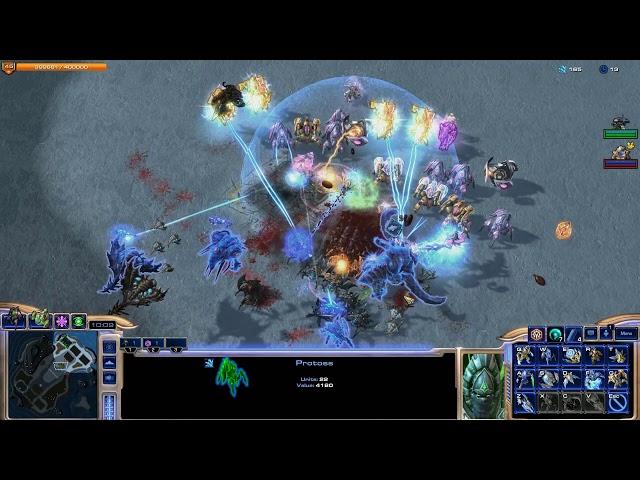 StarCraft II Direct Strike #4 — Gear 1v2 тактика