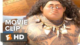 Moana Movie CLIP - Moana Meets Maui (2016) - Dwayne Johnson Movie