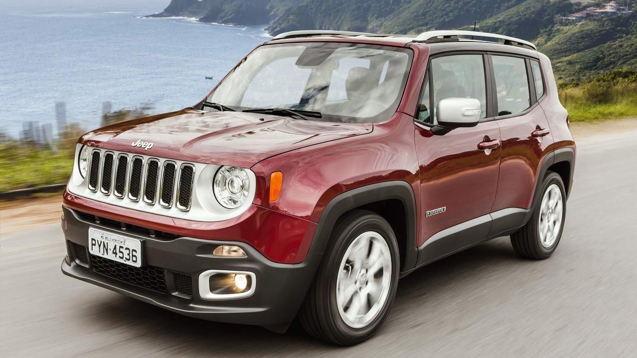 Jeep Renegade 2017 Preco Consumo Desempenho Detalhes Limited