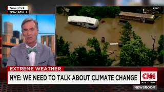 Bill Nye: Blame Global Warming for Texas Floods