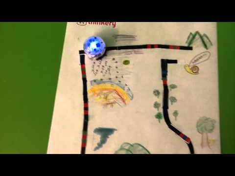 Ozobot adventure with coding