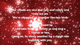 Sleigh - The Ronettes - Sleigh Ride (Lyrics)