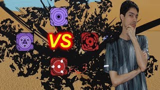 Sasuke Rinnegan VS Madara VS Rinnegan VS Custom Sharingan!   Roblox: NRPG Beyond