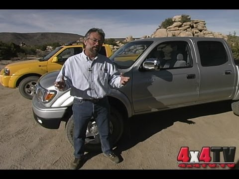 2002 Small Crewcab 4x4 Pickup Roundup - 4x4TV Test Video