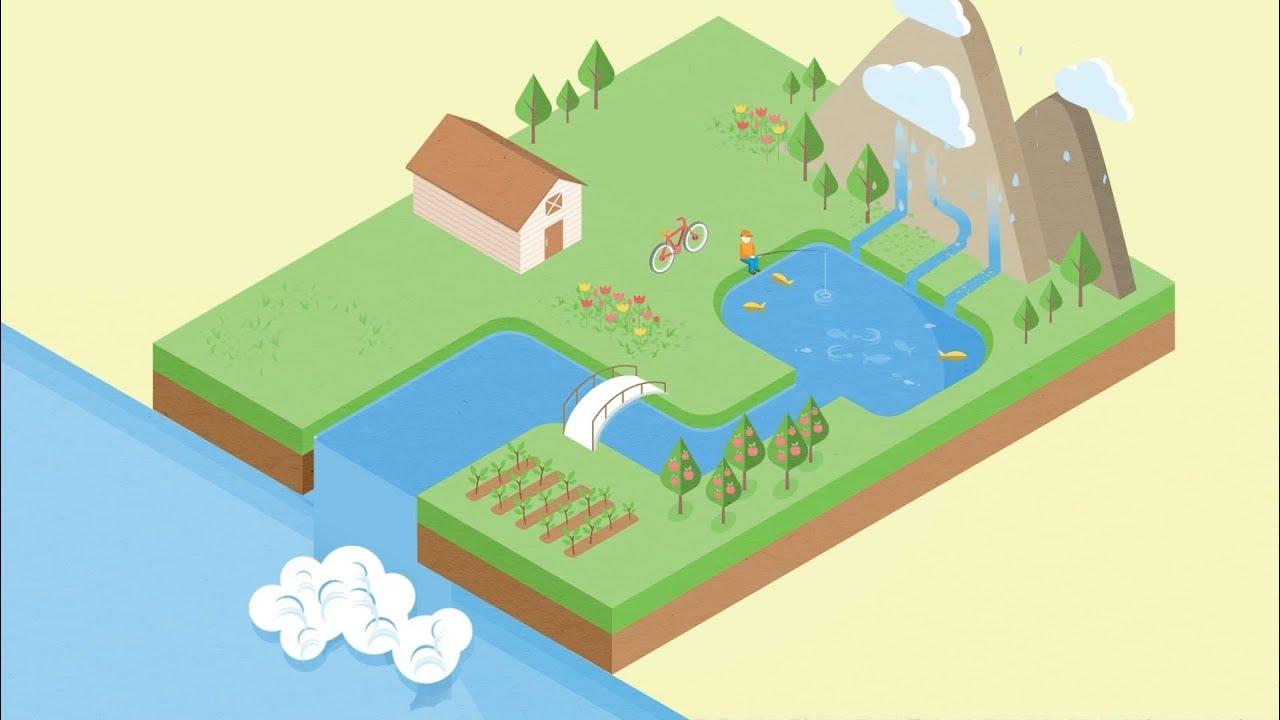 O que são bacias hidrográficas?