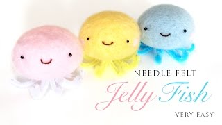 Kawaii Jellyfish - Best Needlefelt Kit For Beginners!