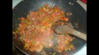 Capsicum Tomato or Bell pepper Tomato Curry