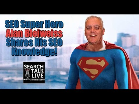 Talking SEO and Algorithms with Forensic SEO Specialists Alan Bleiweiss - Search Talk Live