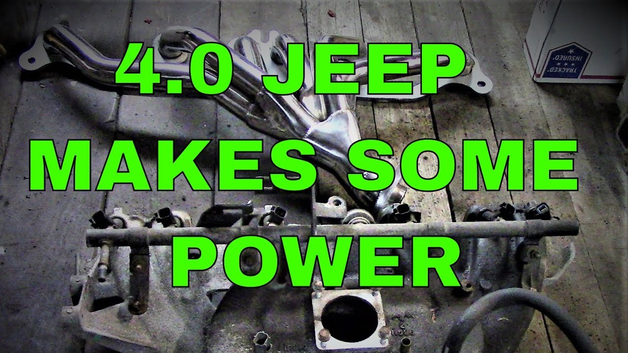 jeep 4 0 intake manifold upgrade