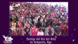 FESTEJO DEL DÍA DEL NIÑO EN ZEMPOALA, HGO