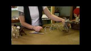 How To Needle Felt - Armature: Sarafina Fiber Art Episode 1