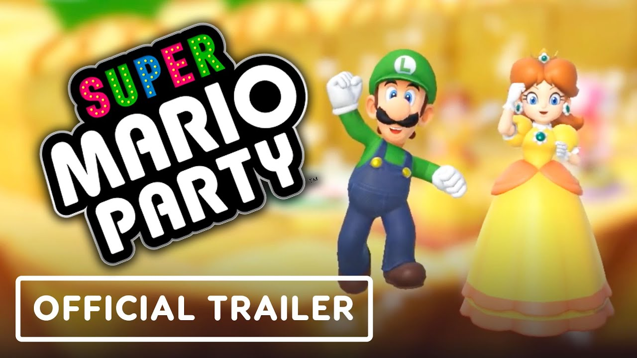 Super Mario Party - Official Update Trailer - IGN thumbnail