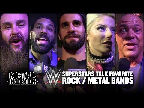 WWE Superstars Reveal Favorite Rock / Metal Bands 2017 | Metal Injection Mp3