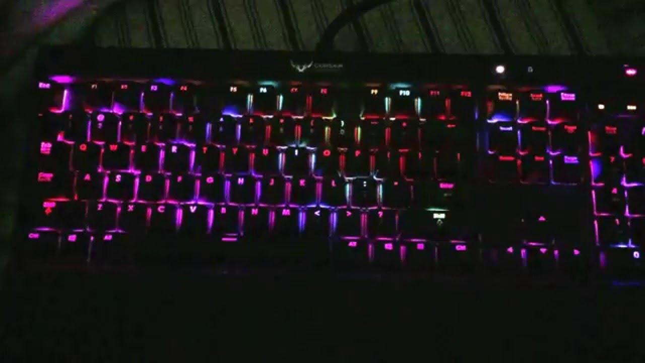 Living Rainbow Corsair RGB Profile