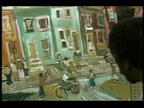 Andrew Turner Paints Part Two - October Gallery, African American Art