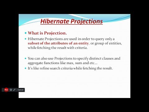 Hibernate Criteria With Projections