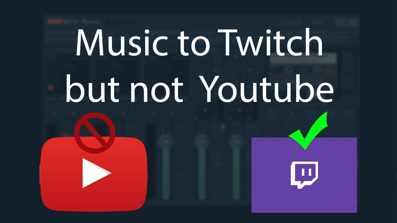 How To Not Have Music Copyright Strikes From Twitch Stream Videos Obs Tutorial Youtube
