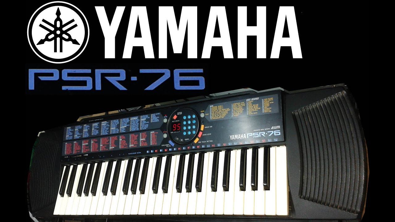 yamaha psr 76 youtube rh youtube com yamaha psr-76 keyboard manual Yamaha PSR 77 Keyboard