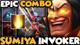Sumiya Invoker Try Hard Rankmatch | Teamplay Is A Key To Winning - Dota 2 Invoker