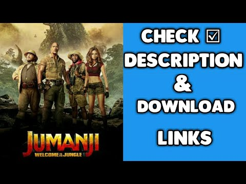Jumanji Welcome To The Jungle 2017 BRRip 900MB & 400 MB English Hindi Dual Audio ORG 480p & 720p