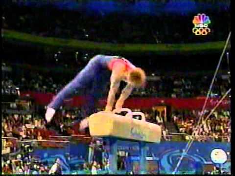 Paul Hamm - 2000 Olympics Prelims - Pommel Horse