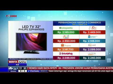 Perbandingan Harga E-Commerce: Led TV Philips 32 Inch
