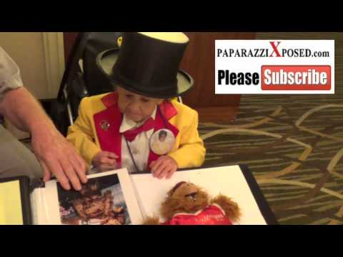 Michu who wore ALF suit on TV about him and Verne Troyer at the Hollywood Show at Westin Hotel in Lo