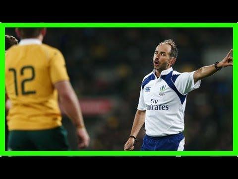 All blacks complain about referee – Australia – US – Sport News – RugbyOnions & Footballs
