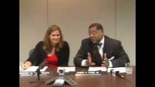 Media Roundtable with Chief Justice Robert P. Young, Jr., and Justice Bridget M. McCormack.