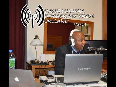 RADIO BIAFRA BROADCAST IN IRELAND - part 1