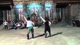 新加坡Angie ng老師+小寶老師=單人舞秀.
