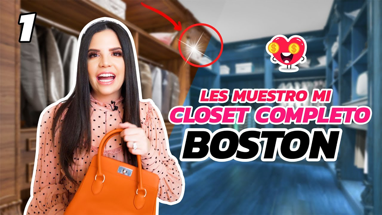 TOUR DE MI CLOSET EN BOSTON | PARTE 1 | El Mundo de Camila