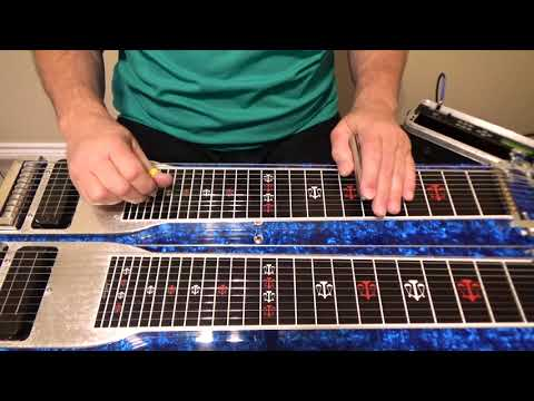 Single String C6 Buddy Emmons Style Licks | Pedal Steel Guitar Lesson