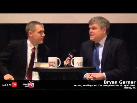 Bryan Garner Shares His Experience 'Reading Law' With Justice Scalia